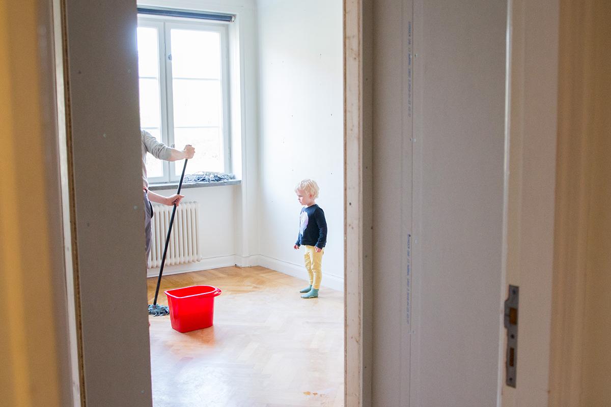 lägenhetsrenovering från en 2:a till en 3:a