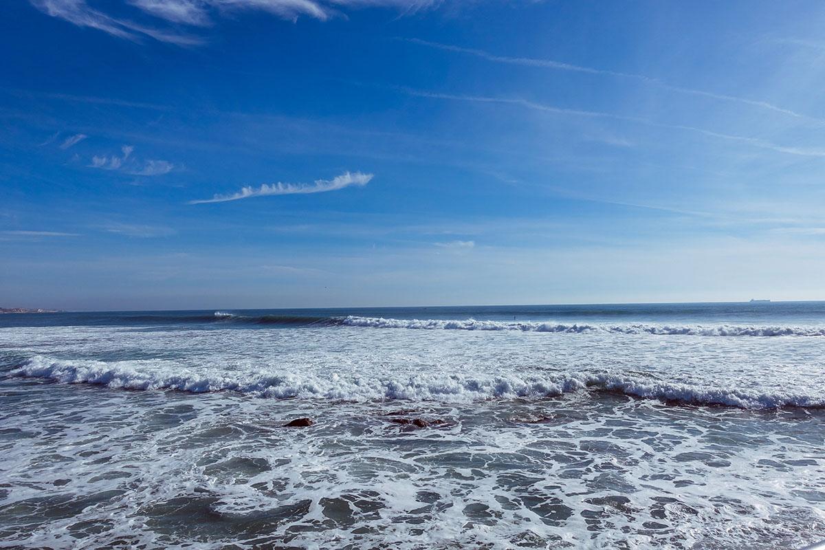 Strandliv i Cascais