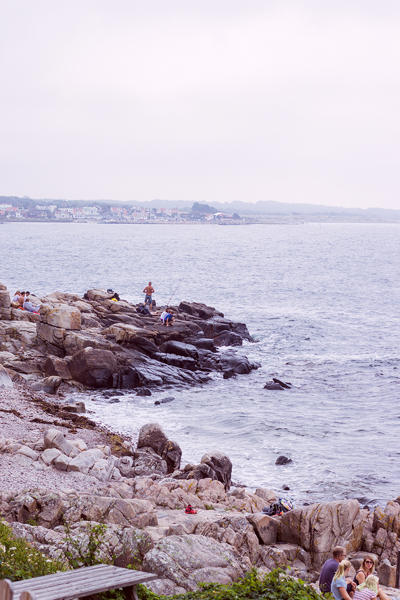 Kullahalvön: Josefinelust, Ransvik och Solvik i Mölle