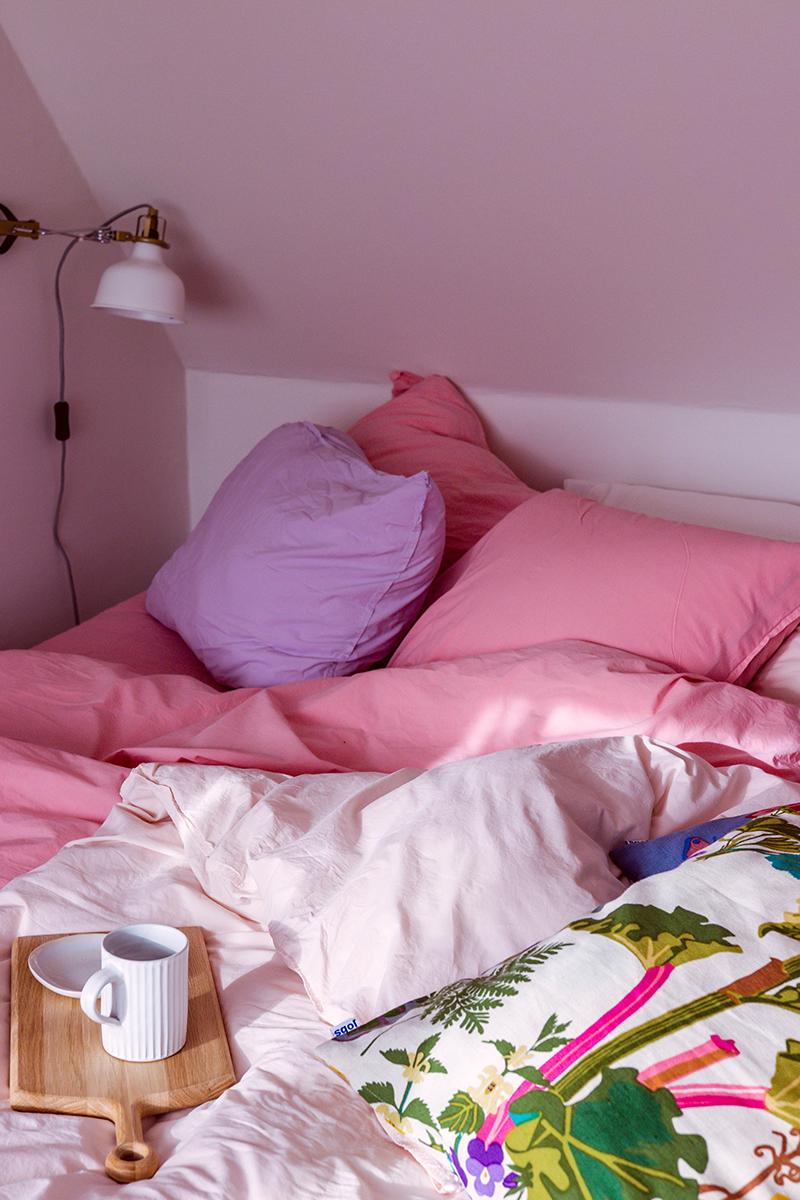 Rosa sängkläder AB Småland