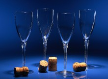 Just Wood Personalised Selection of Wine Glasses