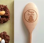 Easter Design - Personalised Wooden Spoon