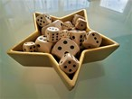 Natural Wooden Dice - Various Sizes