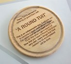 Imperfect Round Tuit Coaster