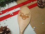 Christmas Design - Personalised Wooden Spoon