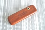 Personalised Wooden Pen Case - Rosewood