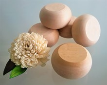 Chunky Round Wooden Pebbles - Large