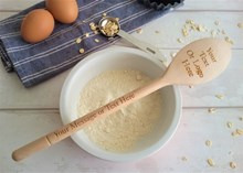 Design Your Own - Personalised Wooden Spoon