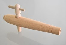 Wooden Tap, Tapered, 7.5 inch (190mm) Open