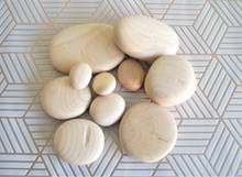 Imperfect Wooden Pebbles - Various Sizes | Limited Quantities
