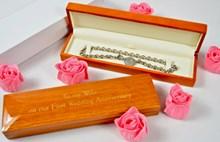 Personalised Wooden Necklace / Bracelet Box