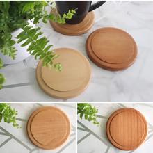 Large Wooden Coaster - Various Timbers - Plain