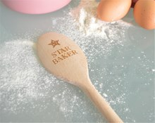 Star Baker Design - Personalised Wooden Spoon