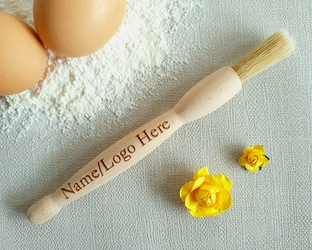 Personalised Wooden Pastry Brush