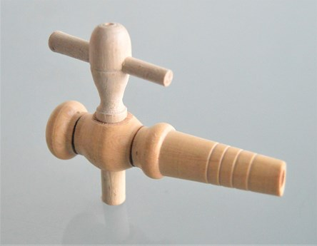Small Wooden Wine / Jar Tap 3,1/4' length (80mm)