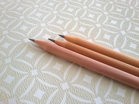 Plain Natural FSC Wooden Pencils
