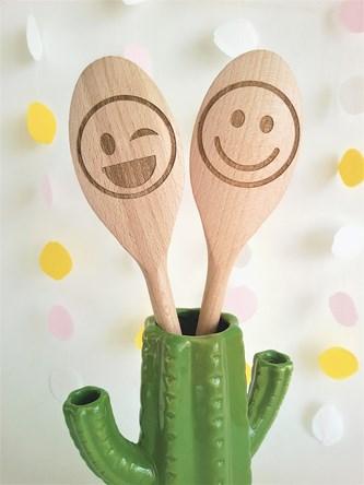 Emoji Design - Personalised Wooden Spoon