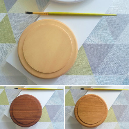 Blank Paintable Wooden Coasters - Large - Various Timbers
