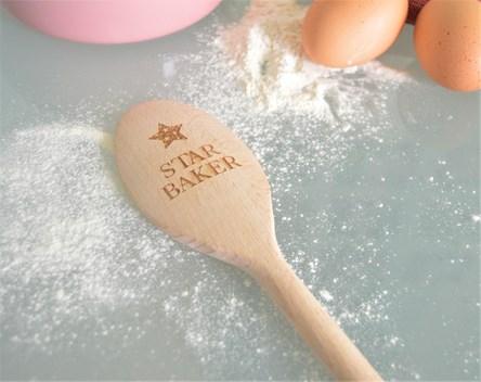 Star Baker Design - Personalised Wooden Spoon