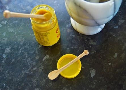 Wooden Mustard Spoon