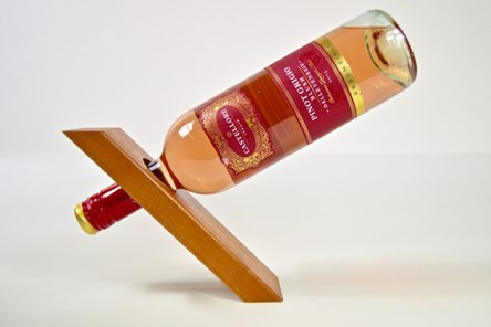 Wooden Wine Bottle Stand