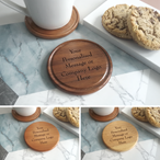 Design Your Own Wooden Coaster - Various Timbers