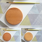 Blank Paintable Wooden Coasters - Small - Various Timbers
