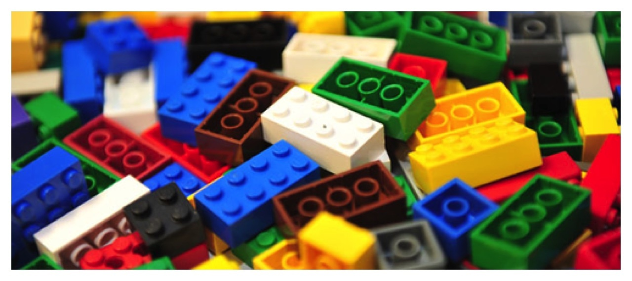 Mixed Colour Lego