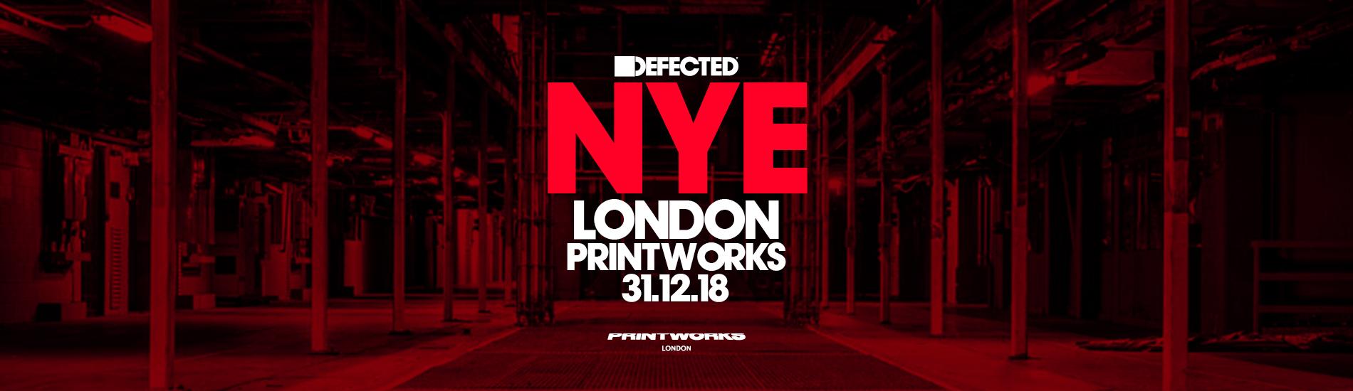 Defected NYE, 31st December 2018