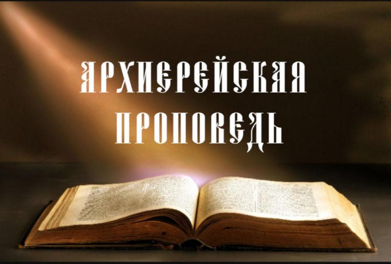 Проповедь епископа Каменского и Камышловского Мефодия «Притча о сеятеле».