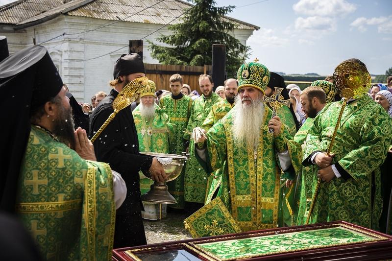 Торжества, посвященные празднованию 25-летия обретения мощей прп. Далмата Исетского