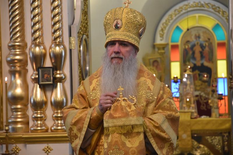 Архиерейская Божественная литургия перед Рождеством Христовым