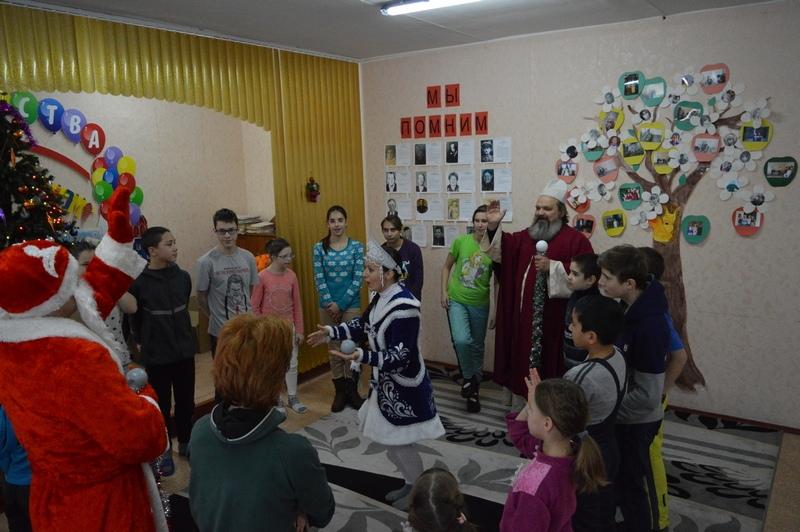 Рождественский праздник в ГКУ «СРЦН № 2 Города Каменска-Уральского»