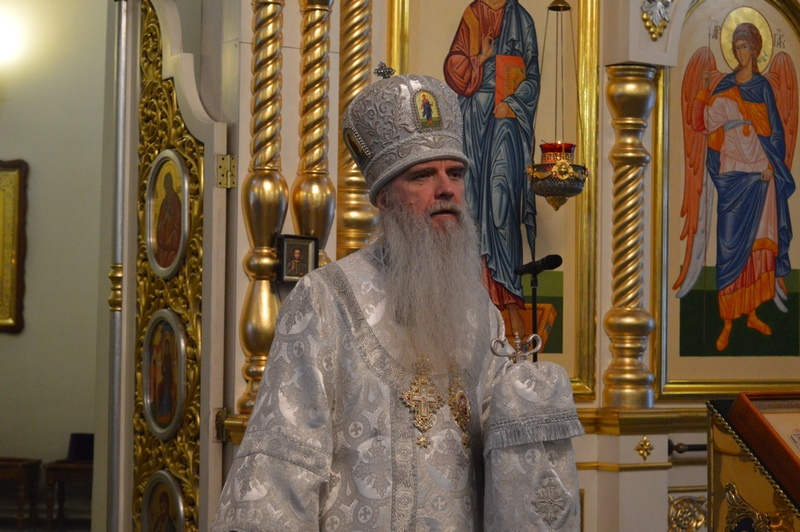 Архиерейская служба в праздник Собора Пресвятой Богородицы