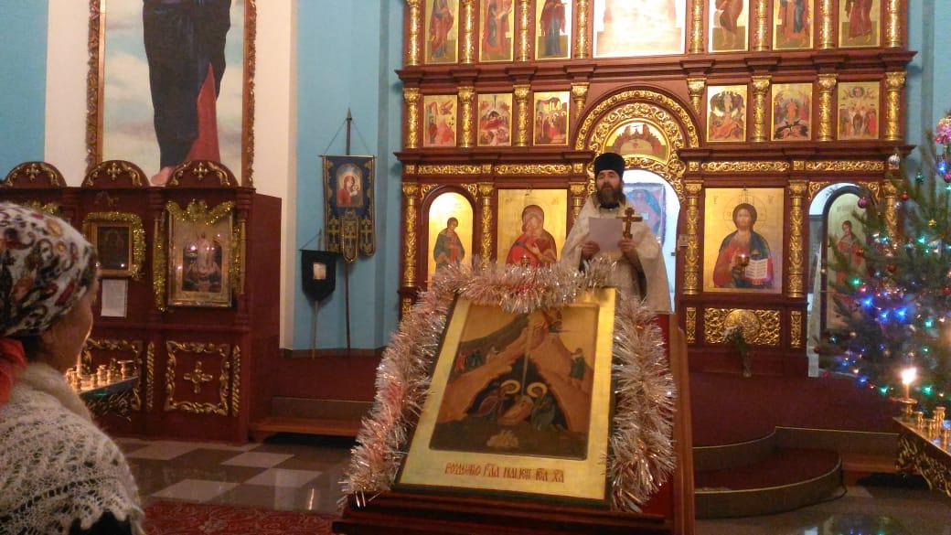 Престольный праздник в Сосновском