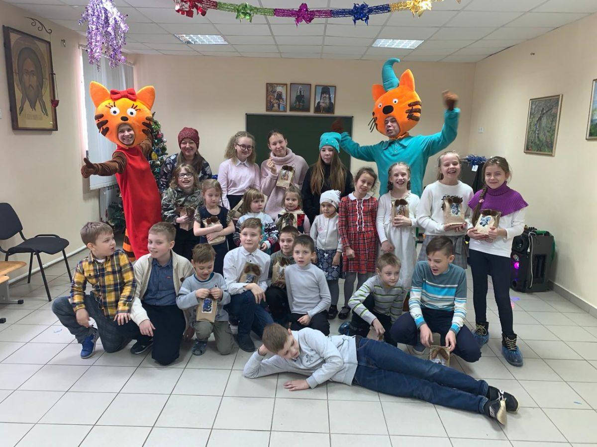 Рождественский праздник в Покровском храме города Каменска-Уральского