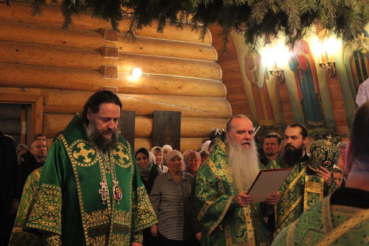 День памяти святого Серафима Саровского в храме иконы Божьей Матери «Умиление» города Асбеста