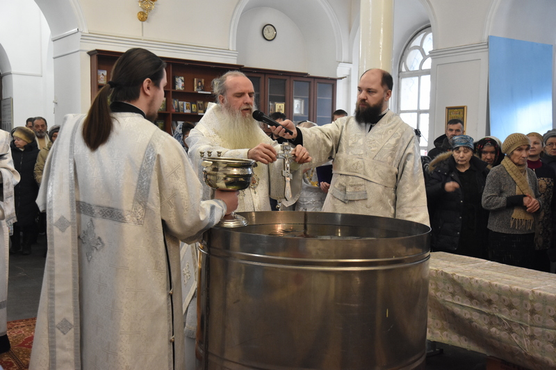 Архиерейская Божественная литургия в праздник Крещения Господня