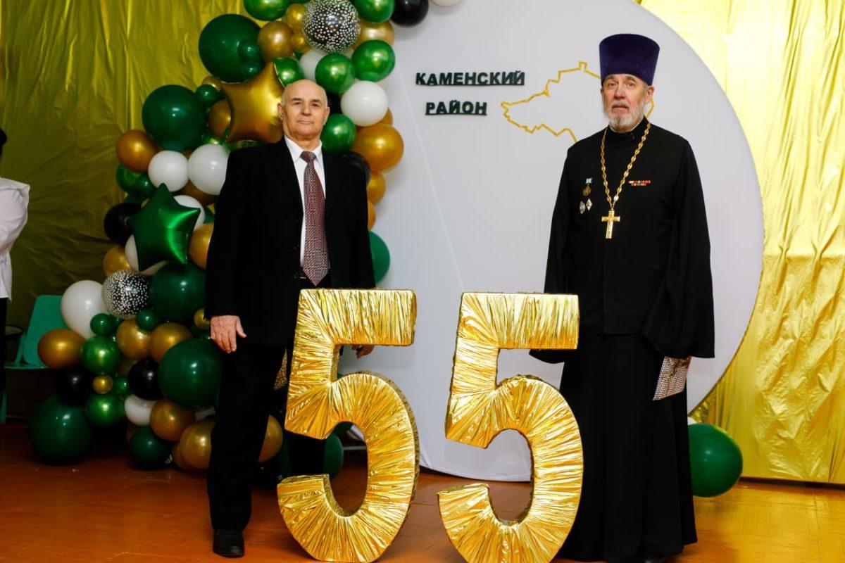 Священник поздравил сельчан с юбилеем района