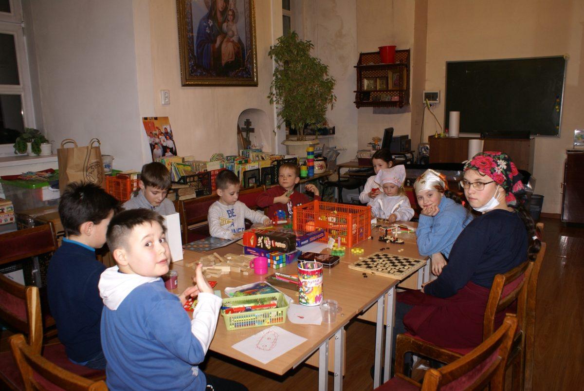 В Свято-Троицком соборе состоялась Сретенская вечерка