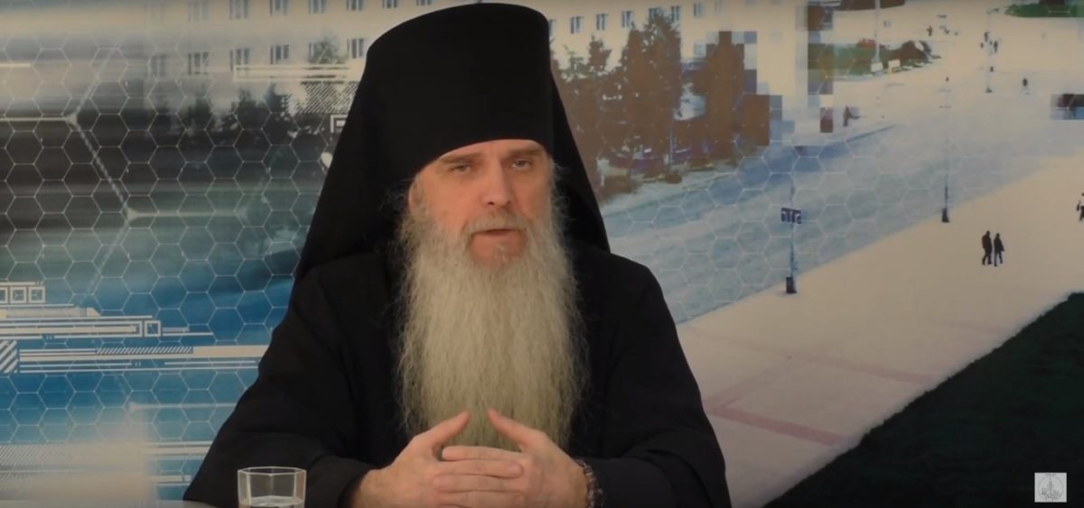 Разговор по существу с епископом Каменским и Камышловским Мефодием