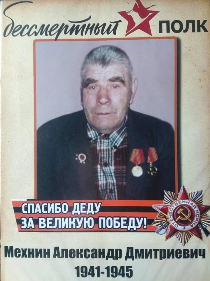 Мехнин Александр Дмитриевич