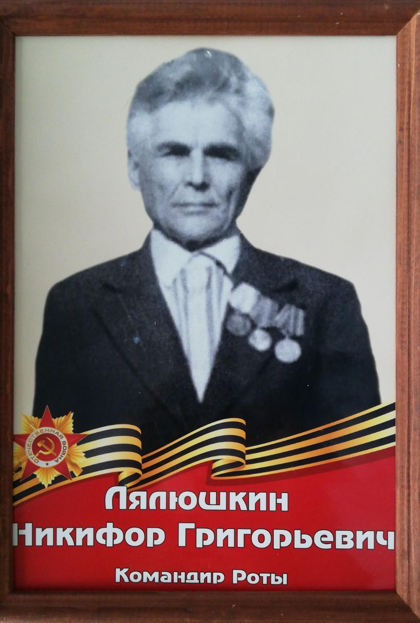 Лялюшкин Никифор Григорьевич