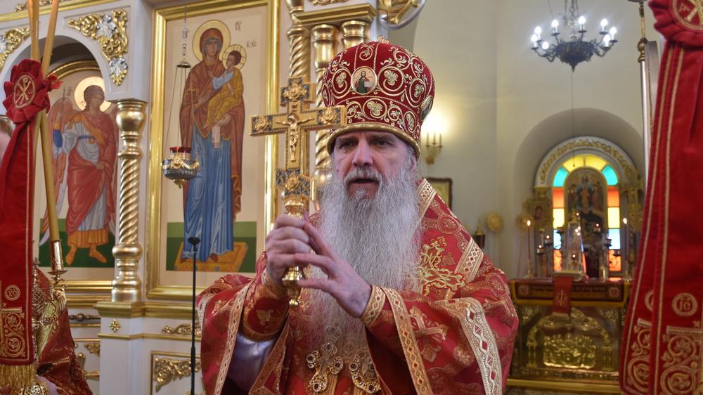 В день святых жен-мироносиц Владыка Мефодий совершил Литургию
