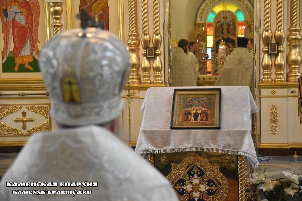 Литургия в день Вознесения Господня (Репортаж ТК «Союз»)