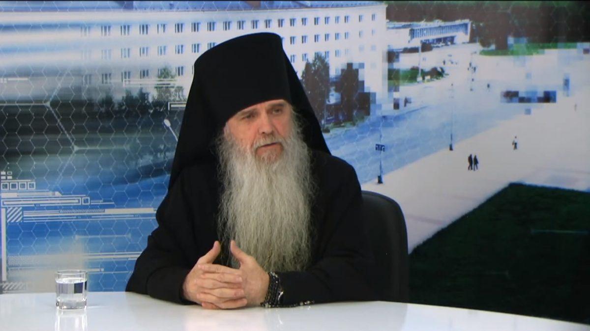 Владыка Мефодий принял участие в телепрограмме «Разговор по существу»