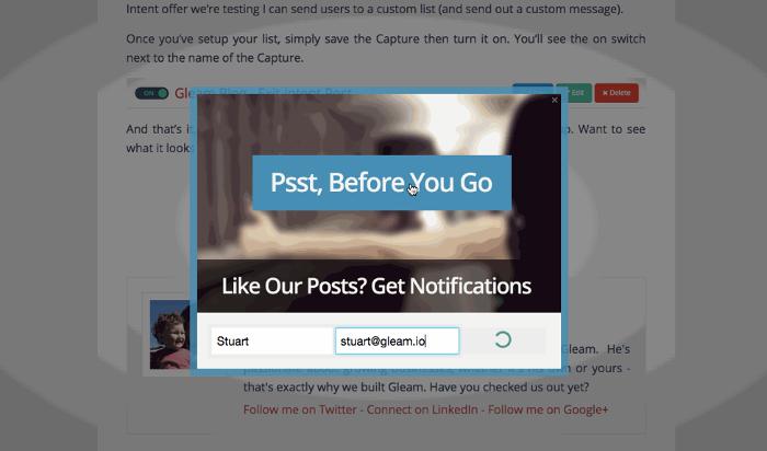 blog pop-up