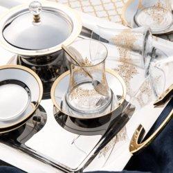 Emsan Salacak Gold 40 Parça Çay Seti