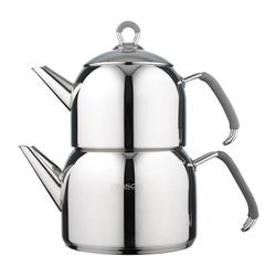 Emsan Anatolia Maxi Paslanmaz Çelik Çaydanlık Siyah
