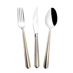 Emsan Elegance Dumais Gold 84 Parça Lüks Kutulu Çatal Kaşık Bıçak Seti